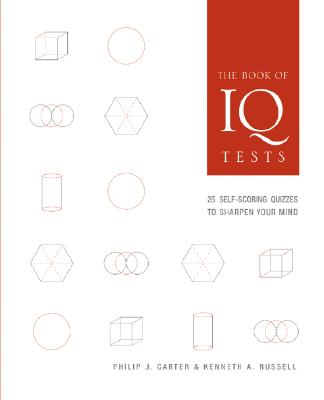 The Book of IQ Tests By Carter, Philip J./ Russell, Kenneth A.